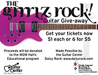 Guitar Give-Away